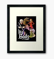 Big Bads Framed Print