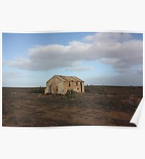 White Wells Station Nullarbor/B Poster