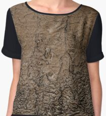 Pipeline Abstract Chiffon Top