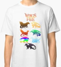 Wings of Fire Tribes Classic T-Shirt