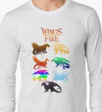 Flügel der Feuerstämme Langarmshirt