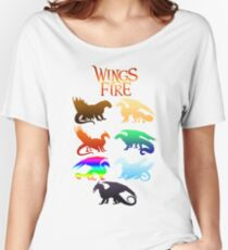 Wings of Fire Tribes Women's Relaxed Fit T-Shirt
