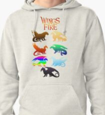 Wings of Fire Tribes Pullover Hoodie