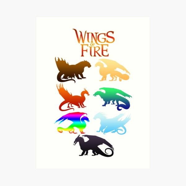 Wings of Fire Tribes Art Print