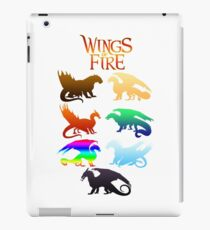 Flügel der Feuerstämme iPad-Hülle & Klebefolie
