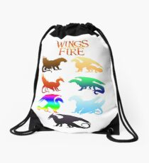 Wings of Fire Tribes Drawstring Bag