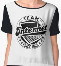 Team Internet - Since 1969 Women's Chiffon Top