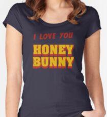 HONEY BUNNY Tailliertes Rundhals-Shirt