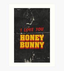 HONEY BUNNY Art Print