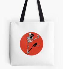 Skelett Kickboxer Tote Bag