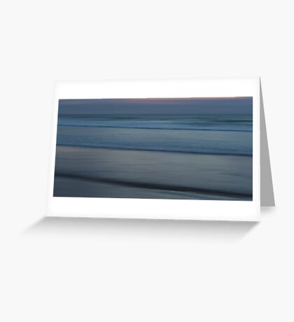 Infinite Silence Greeting Card