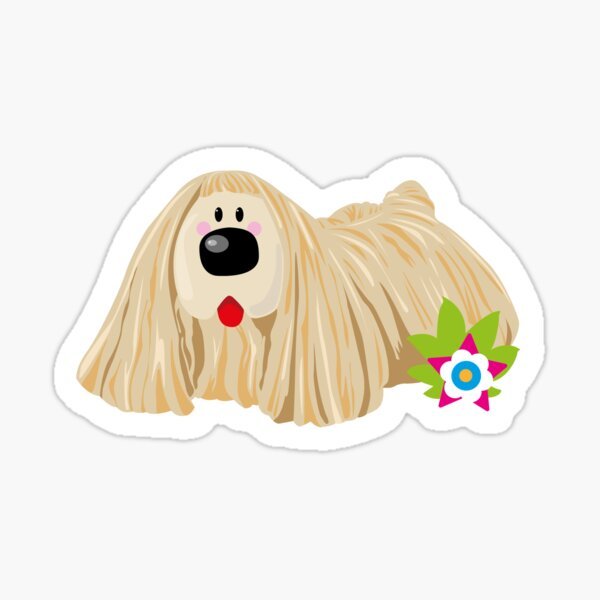 Magic dougal dog sticker Sticker