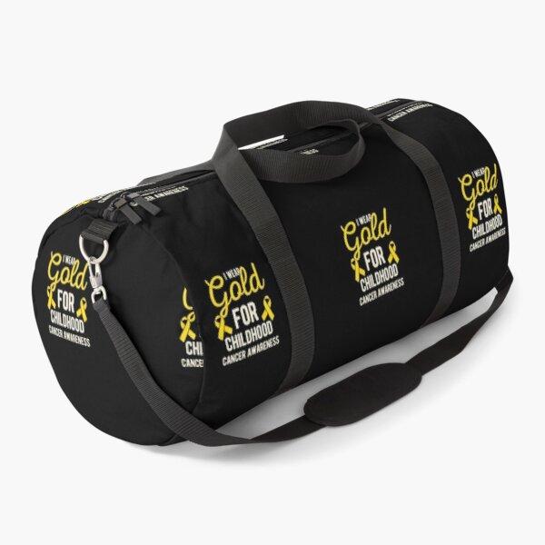 Childhood Cancer Duffle Bag