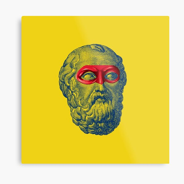 Captain Plato Metal Print