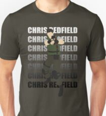 Chris Redfield  Resident Evil Remake version T-Shirt