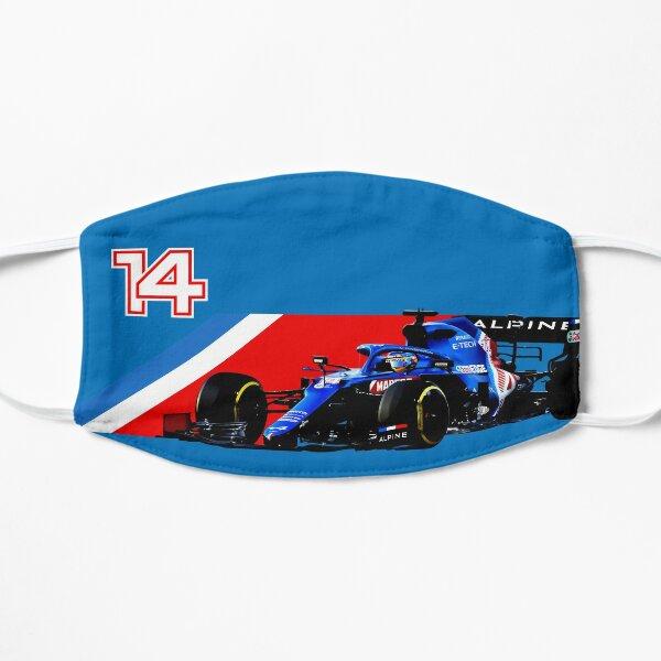 Dessin Graphique Fernando Alonso - F1 2021 Masque sans plis