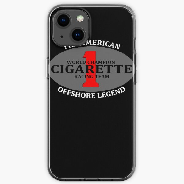 Cigarette Racing Team Power Boats iPhone Soft Case
