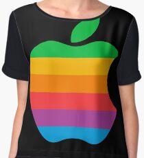 Retro Apple  Women's Chiffon Top