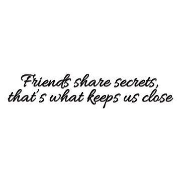 Friends & secrets by valem97