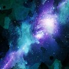 Green Galaxy by KatArtDesigns