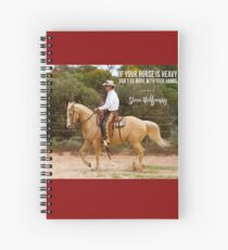 Don't do more with your hands Spiral Notebook
