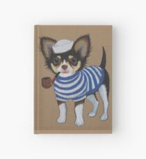 Sailor Chihuahua Hardcover Journal