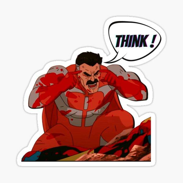 Think Mark | Omni man Sticker