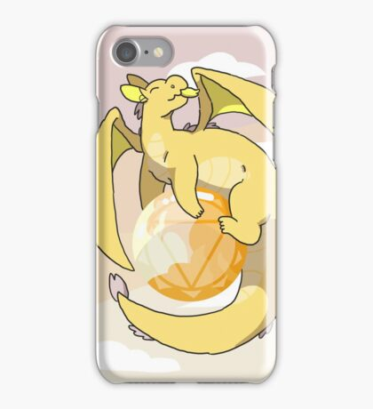 Citrine Dragon iPhone Case/Skin