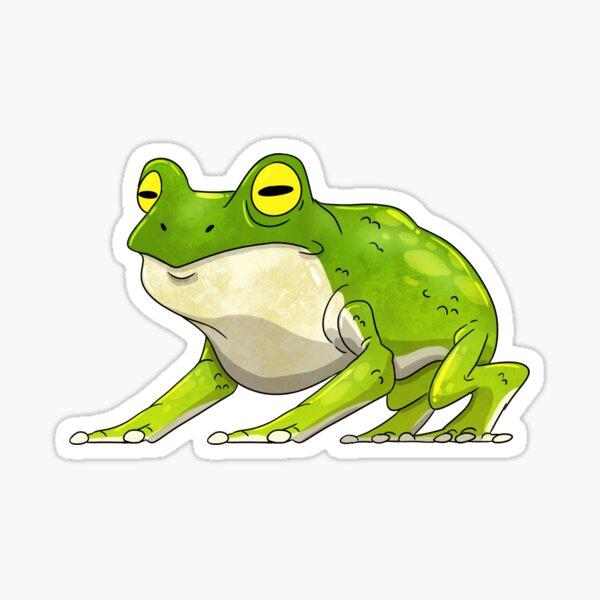 Giant Frog Sticker