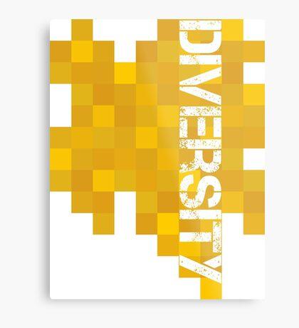 Diversity 2 Metal Print