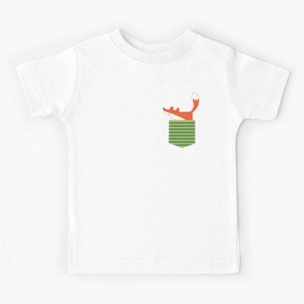 fox in my pocket Kids T-Shirt