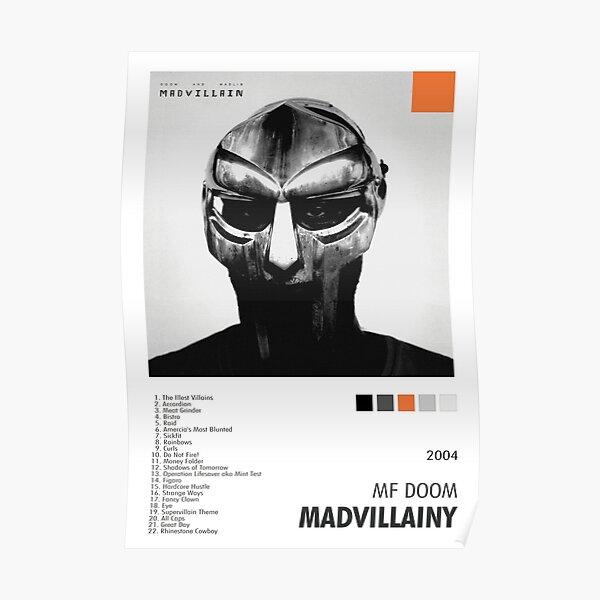 Madvillainy Album Cover Poster