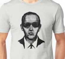 D.B. Cooper - Black and White  Unisex T-Shirt