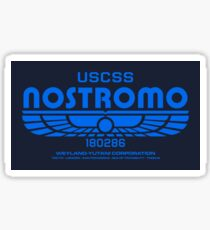Nostromo - Alien - Prometheus (Clean non-distressed) Sticker