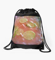 Citrus Punch Drawstring Bag