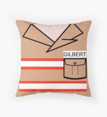 GB Gilbert Throw Pillow