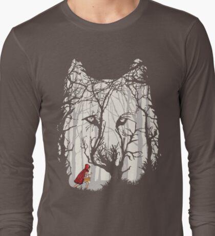 Little Red Woods Run T-Shirt