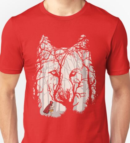 Little Red Woods Run T-Shirt