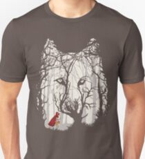 Little Red Woods Run Unisex T-Shirt