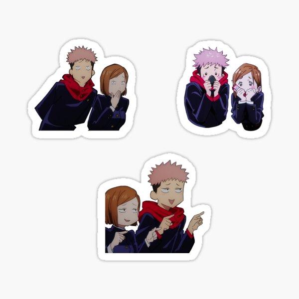 Nobara and Yuuji Besties  Sticker