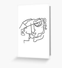 After Picasso B18 Greeting Card