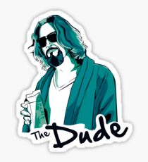 The Dude, The big Lebowski Sticker