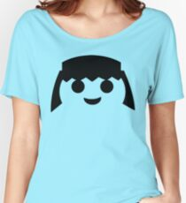PLAYMOBIL HAPPY FACE Women's Relaxed Fit T-Shirt