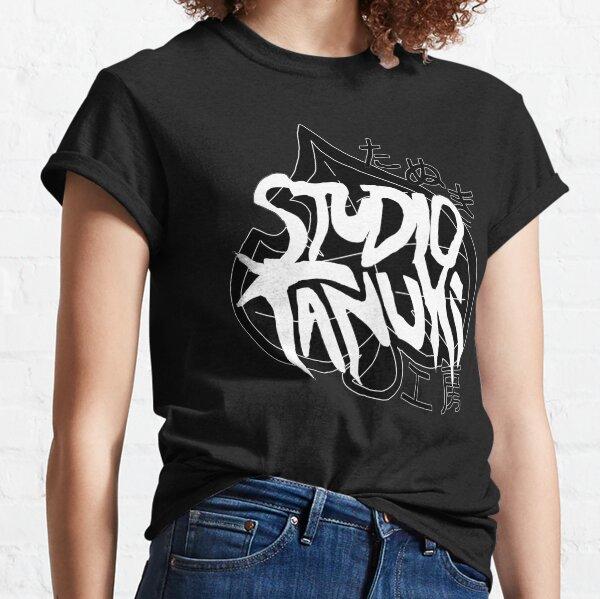TANUKI LOGO ALL-BLACK Classic T-Shirt