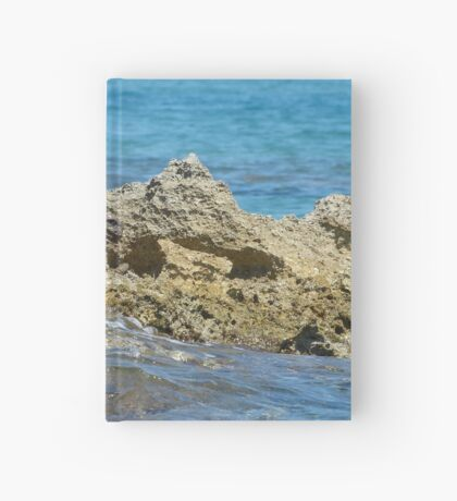 Sharp splash Hardcover Journal