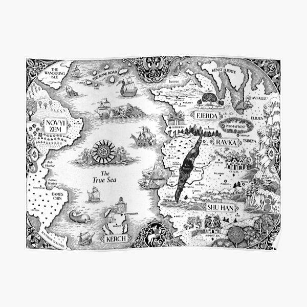 Grisha Map 2 Poster