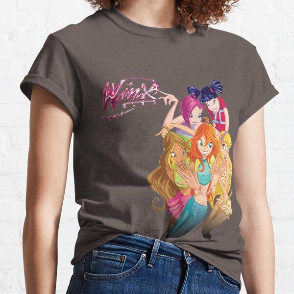 Winx Club Flora Sirenix Bloom Aisha T-shirt classique