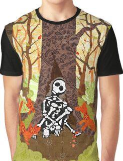 Fox Grave Graphic T-Shirt