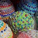 Luxury Easter eggs by Michelle Neeling