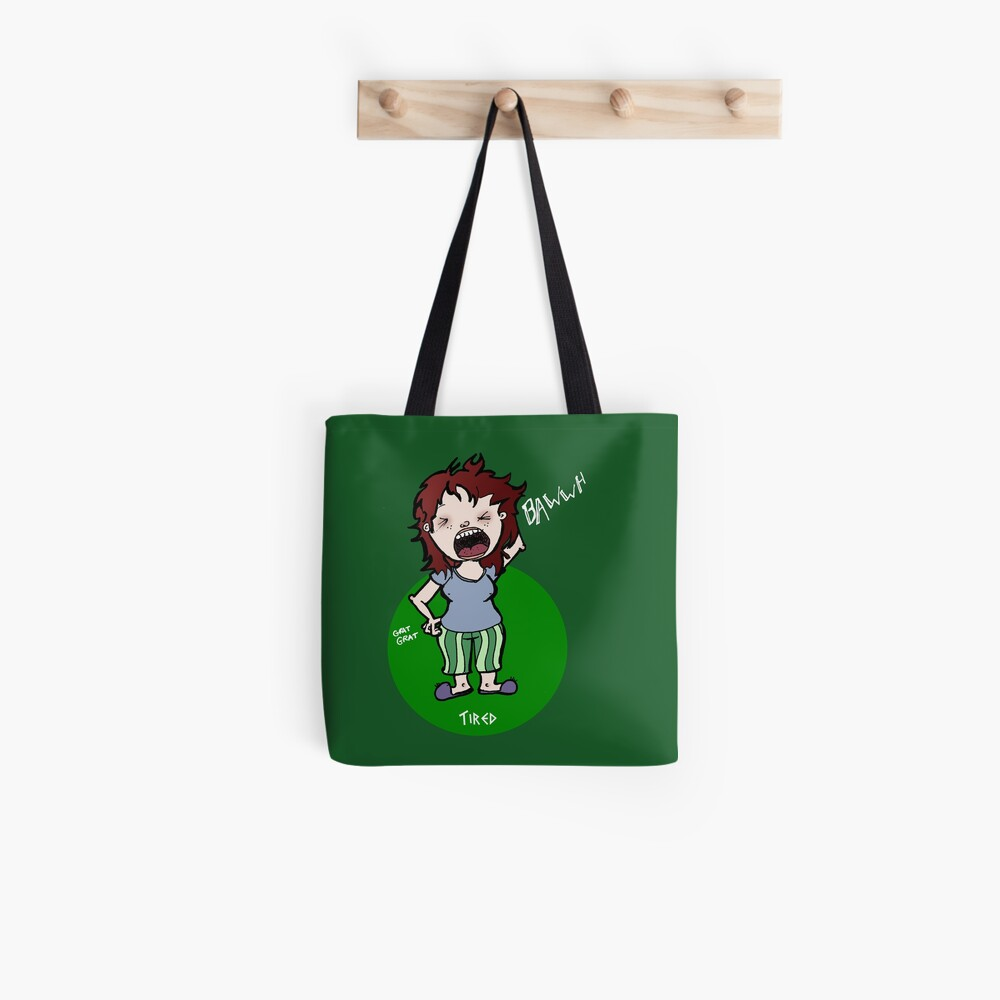 Tired Lux Tote Bag